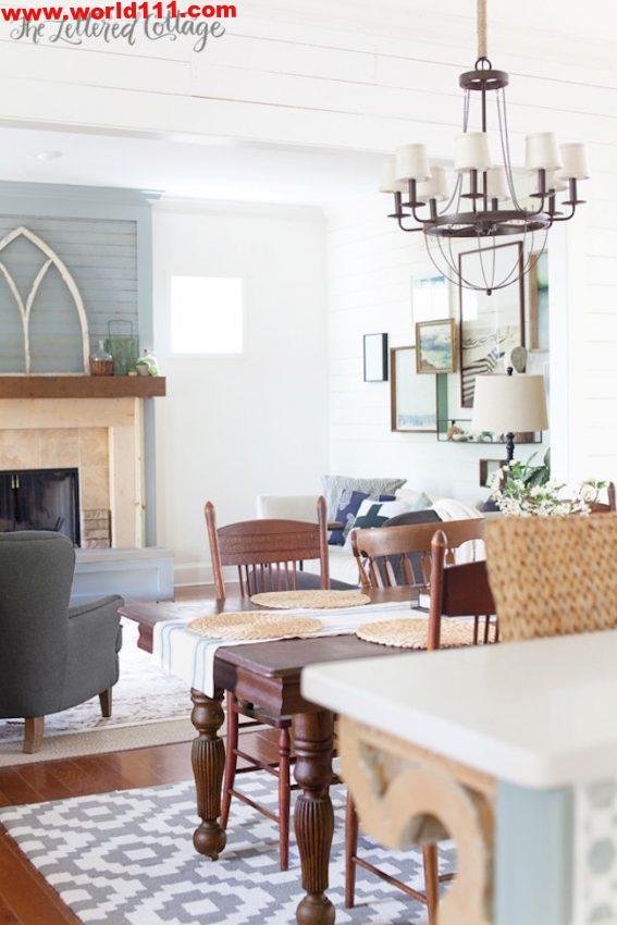 صور أفكار لتصميم غرفة المعيشة