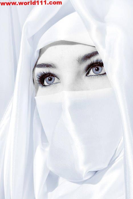 صور عبون بنات محجبات جميلات اجمل نساء الكون المحجبات