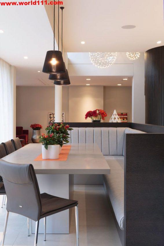 صور تصميمات لغرفة الطعام المعاصرة