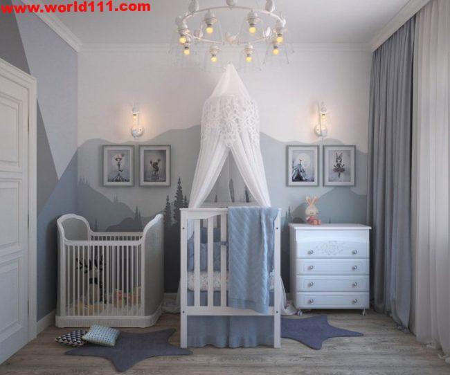 صور تصميمات لغرف الاطفال