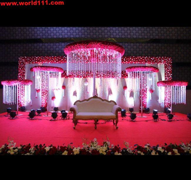 صور ديكورات لمسرح حفل الزفاف-2