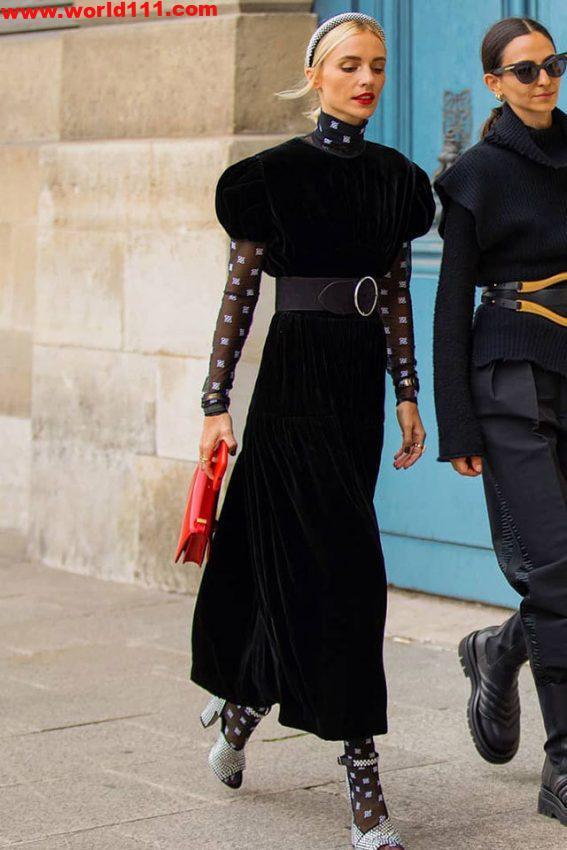 صور كيف يمكن لأي شخص ارتداء فساتين نفخة الأكمام