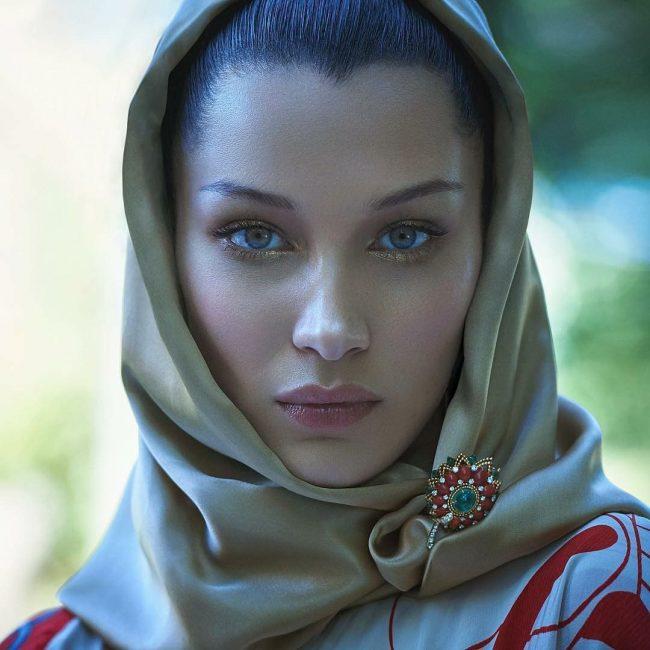 اجمل نساء العالم حسب المقاييس العلميه بيلا حديد  من هي اجمل امراة في العالم