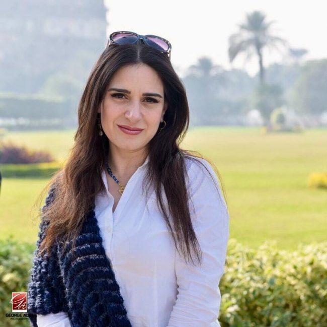 حساب الفنانة المصرية ميرنا وليد فيسبوك و انستقرام و سناب و تويتر