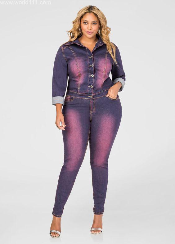 صور ازياء موضة جينز للكيرفي الممتلىء الجسم الكيرفي لا يناسبه بعض الأزياء